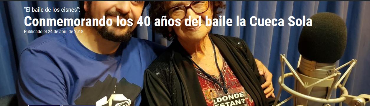 «El baile de los cisnes»: Conmemorando los 40 años del baile la Cueca Sola