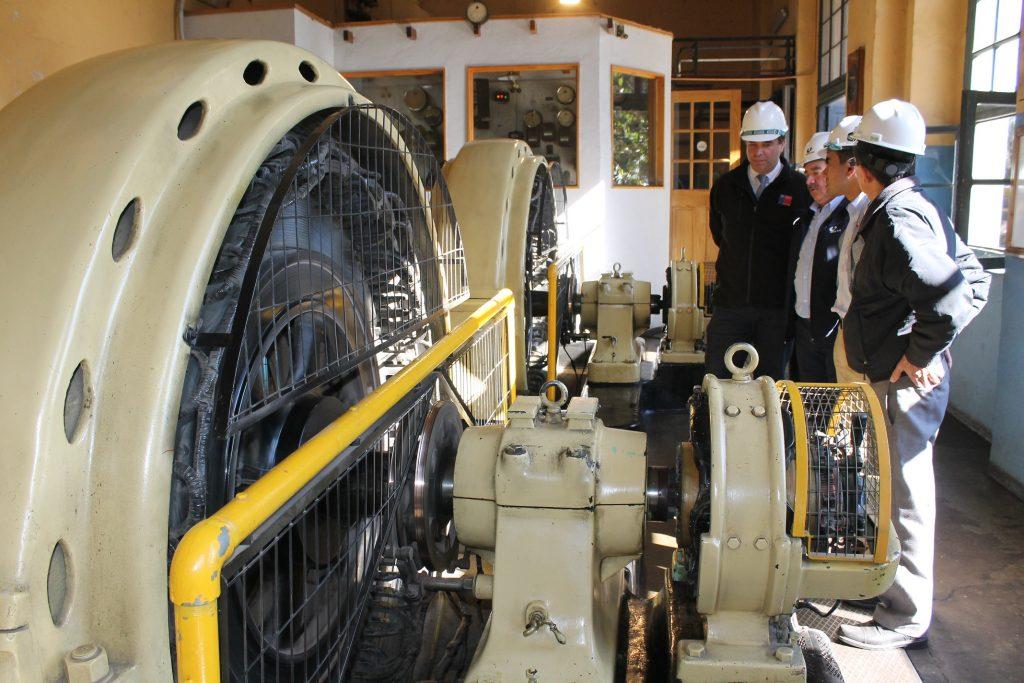Destacan valor patrimonial de centenaria generadora eléctrica de Los Andes