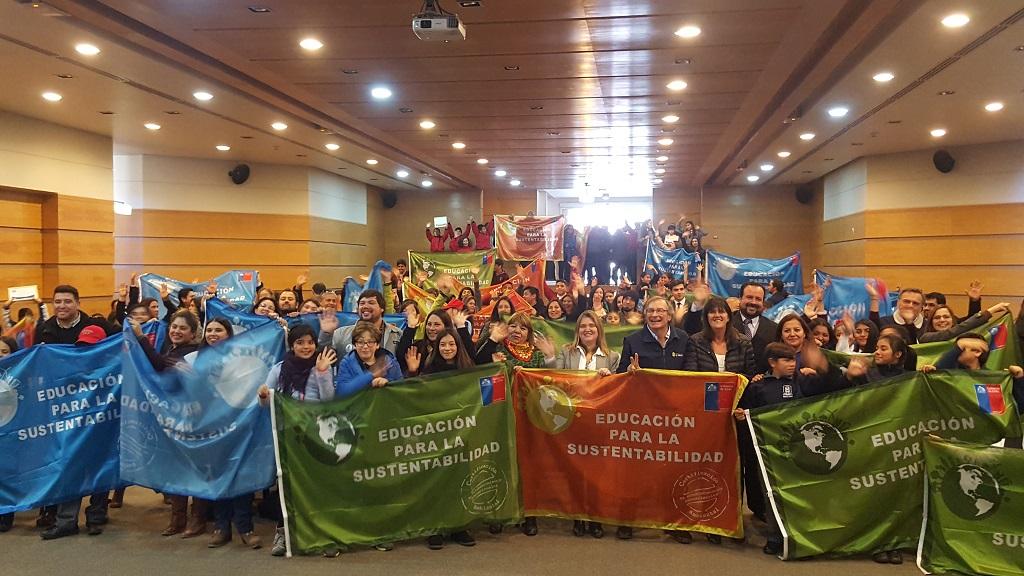 49 escuelas de la región se certifican con Sello Ambiental