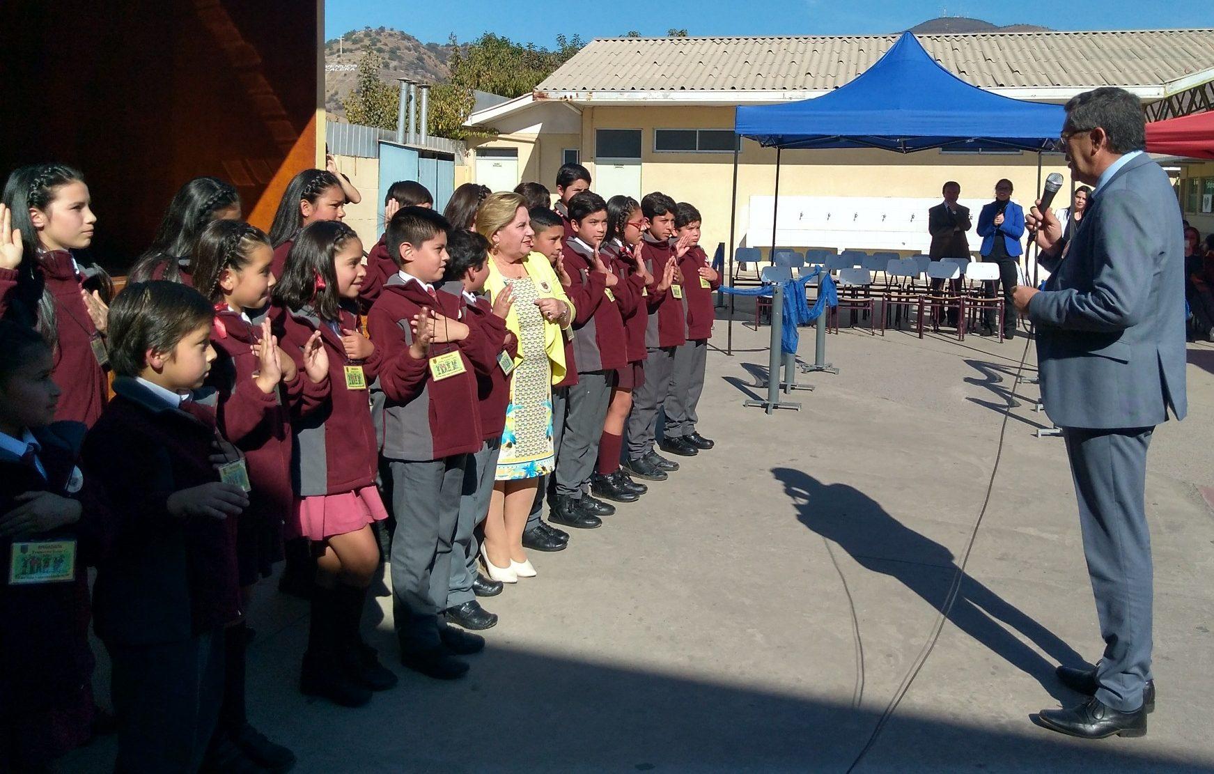 Alumnos se transformaron en Brigadistas de la Sana Convivencia en escuela de La Calera