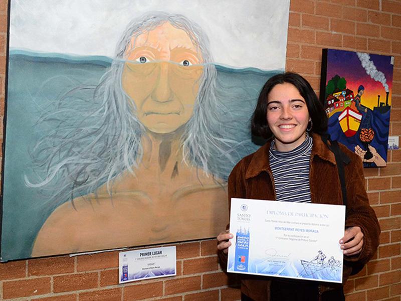 Se acerca el plazo final para participar en concurso de pintura escolar organizado por Santo Tomás Viña del Mar