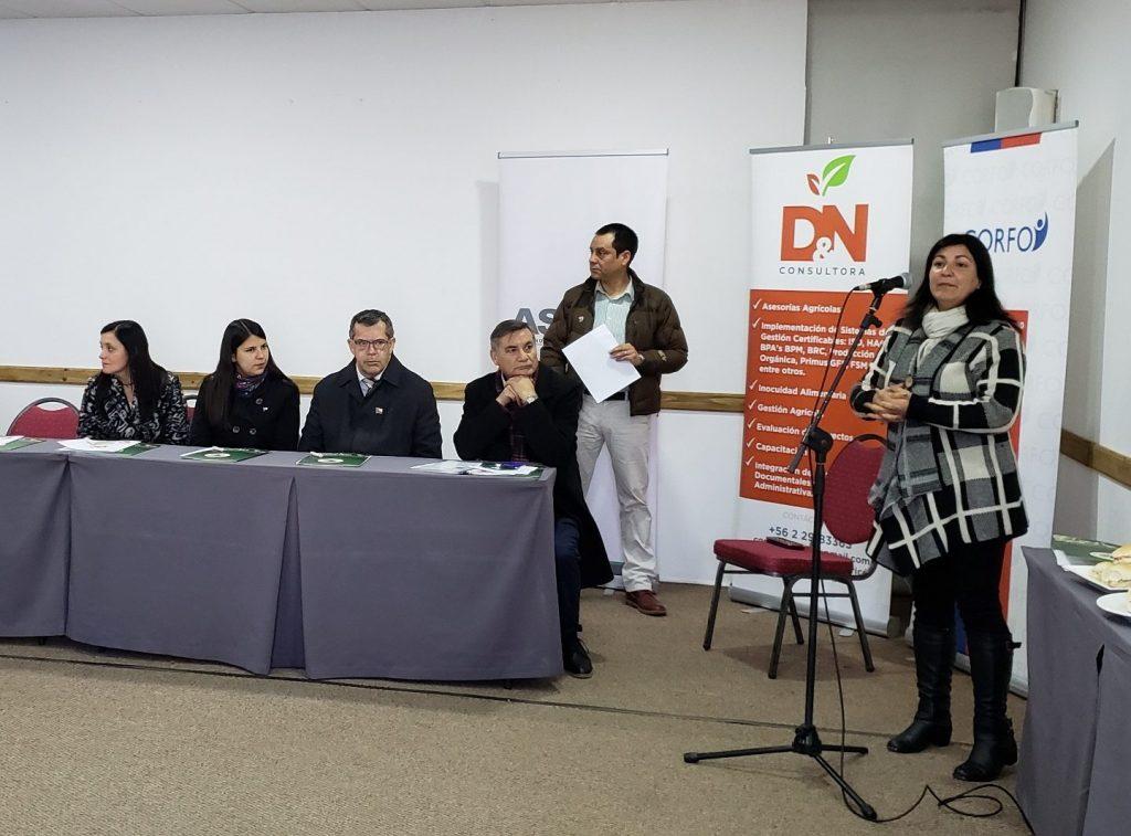 Quillota: Inauguran Programa que fortalece la  exportación de la fruticultura tradicional