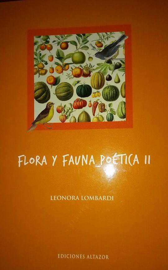 Flora y fauna poética II de Leonora Lombardi, por Eddie Morales Piña