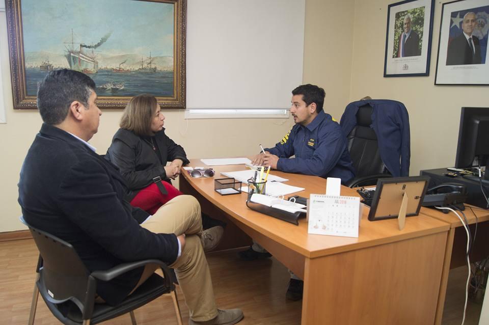 Concejales de Casablanca se reúnen con subcomisario de la PDI