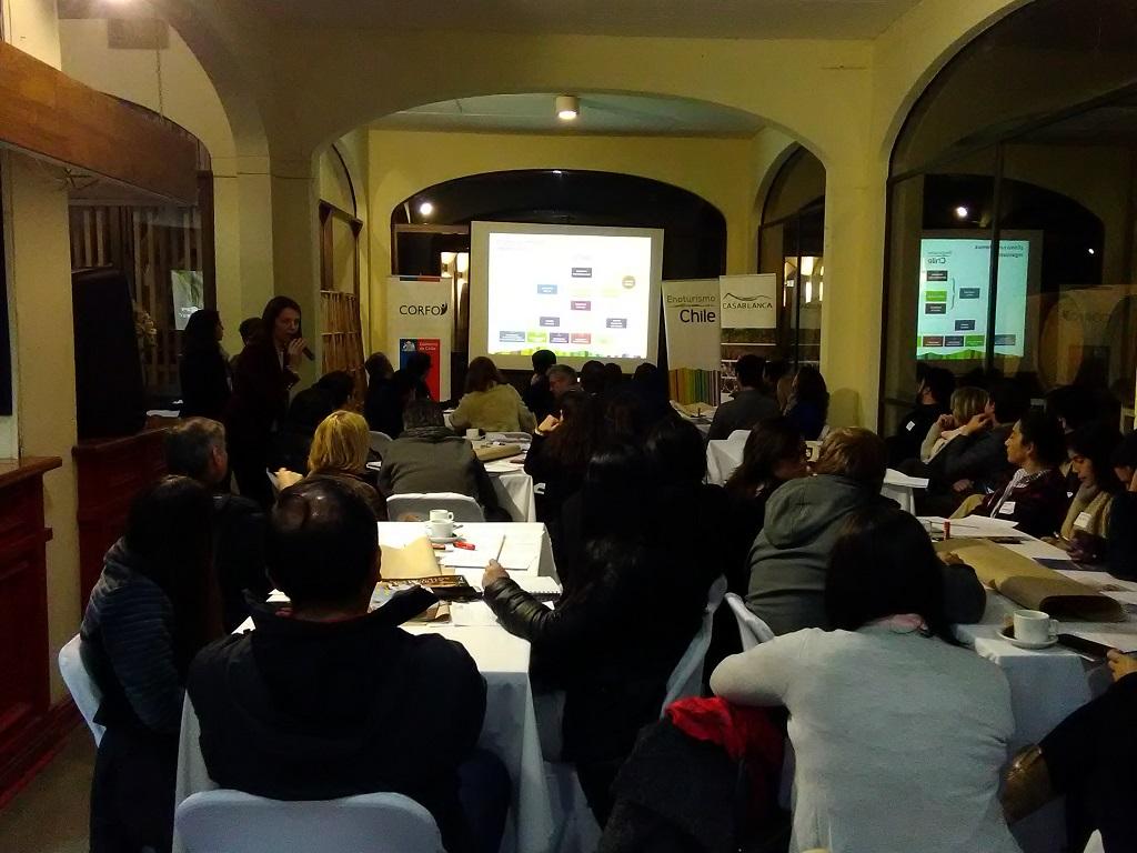 Casablanca: En taller multisectorial identificaron  características regionales del Enoturismo