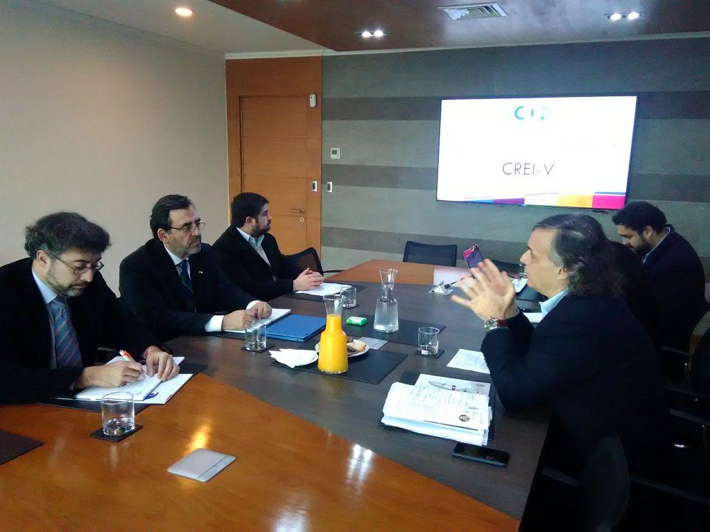 Corfo y CRCP acordaron fortalecer la alianza público privada