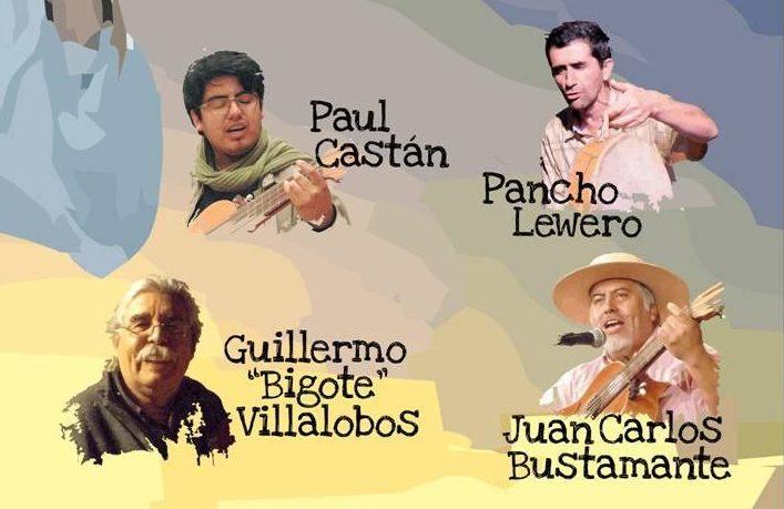 Payadores de Casablanca, Placilla, Rancagua y San Bernardo se juntan en Quilpué el sábado 9 de junio