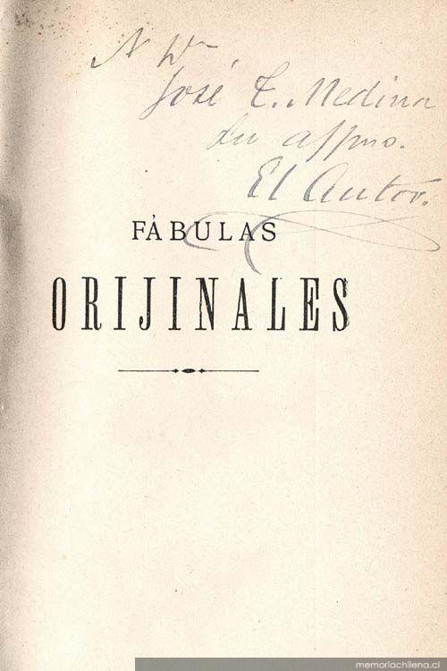 Fábulas chilenas, por Eddie Morales Piña