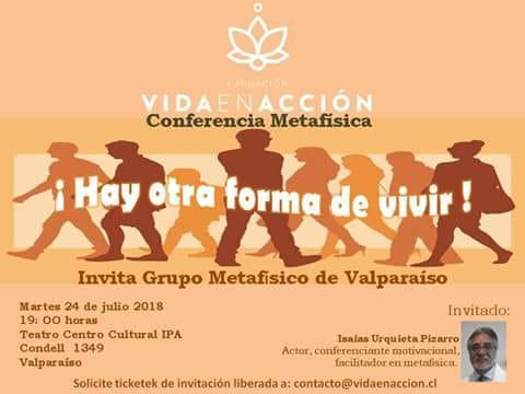 Invitan a conferencia metafísica en Teatro Cultural IPA