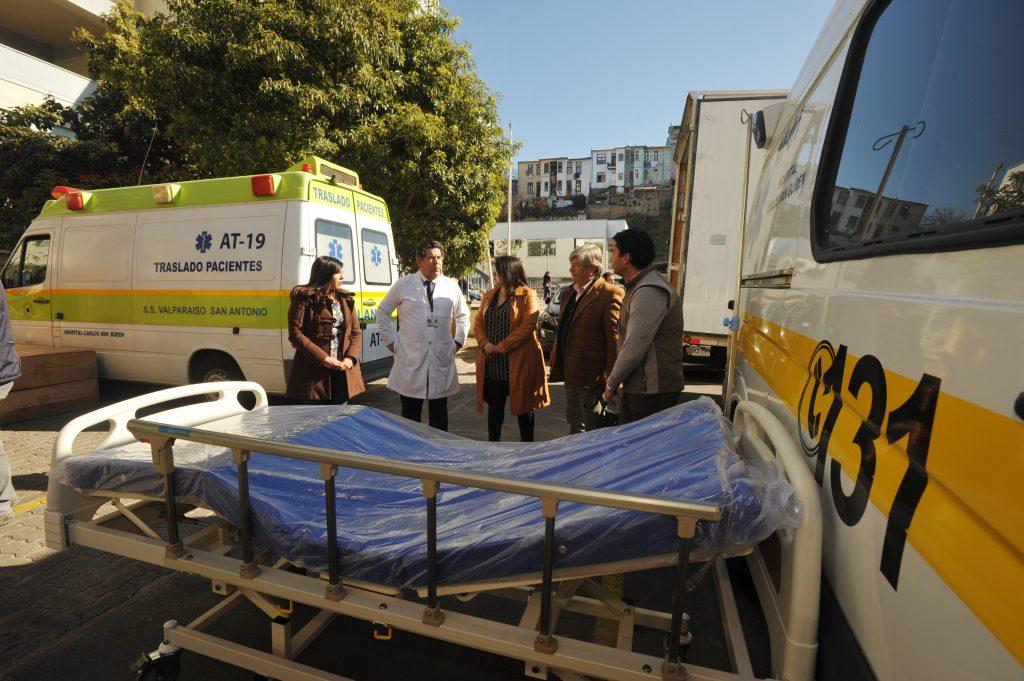 SSVSA recibe 23 nuevas camas para los hospitales Carlos Van Buren y Eduardo Pereira