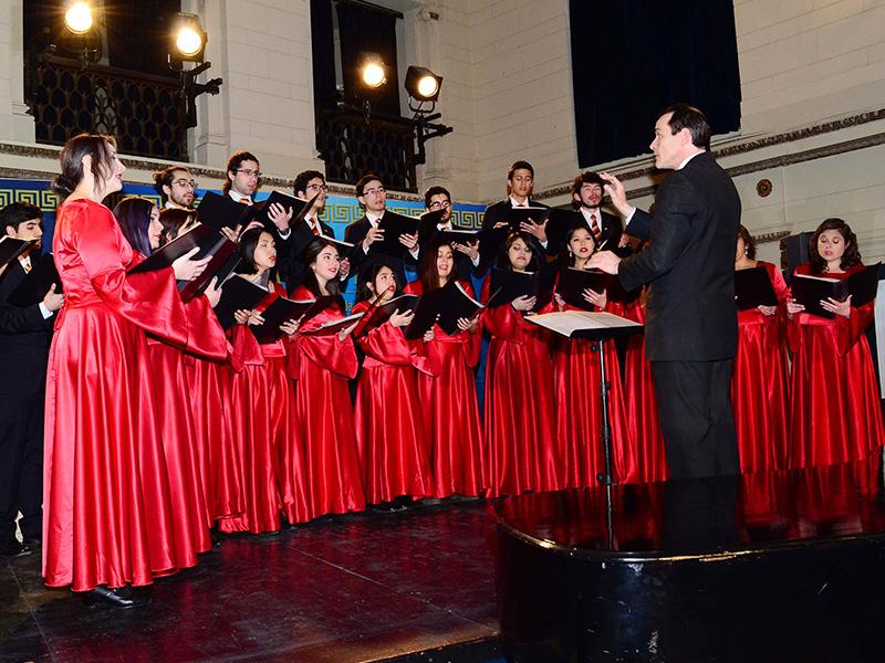 Santo Tomás y Municipalidad de Viña del Mar organizan octava versión del Encuentro Coral de la Ciudad Jardín