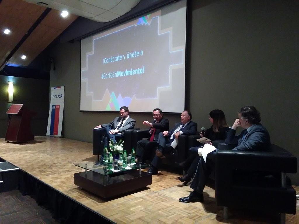 Actores públicos y privados se dieron cita en el Primer Diálogo Empresarial de Corfo