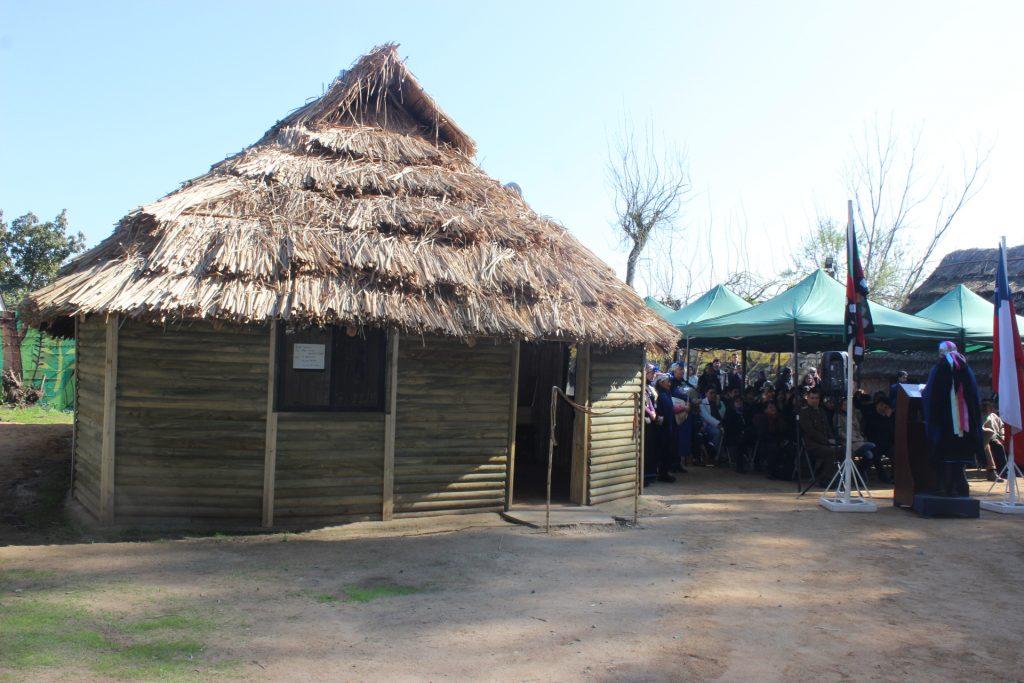 Ruka mapuche del Hospital de Peñablanca fue inaugurada con una emotiva ceremonia