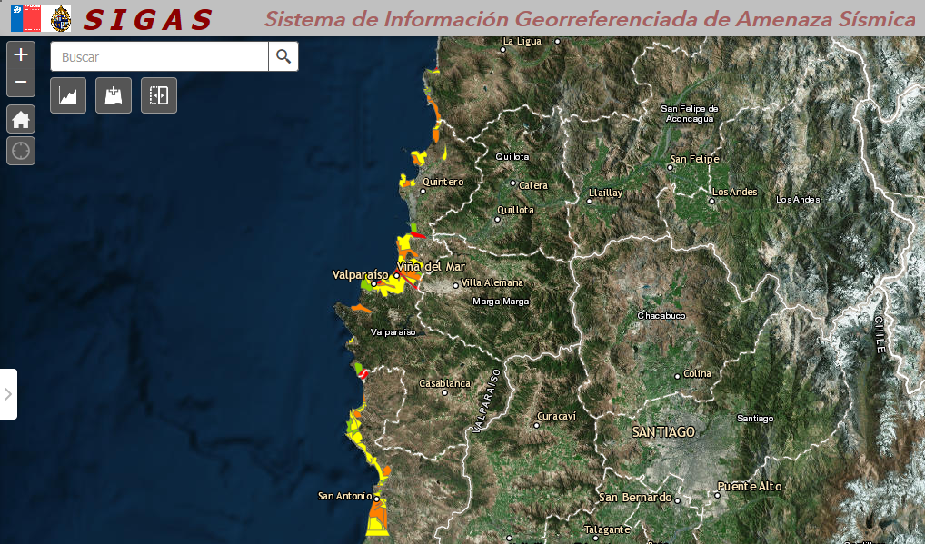 """Presentan """"Plataforma de Amenaza Sísmica SIGAS"""" en Valparaíso"""