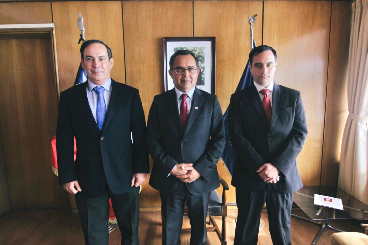 Mauricio Bustos asume en ONEMI Valparaíso