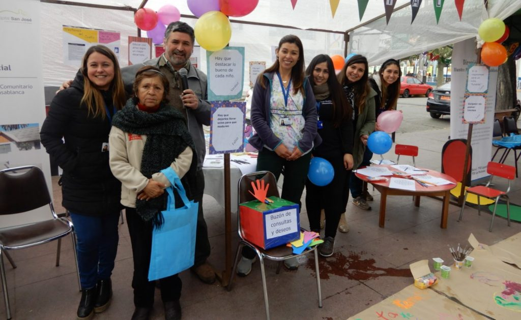 Hospital de Casablanca y Municipalidad conmemoraron  Día Mundial de Salud Mental