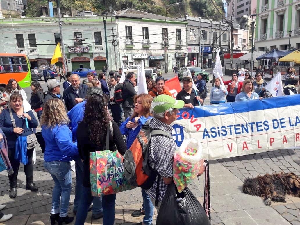 Coordinadora #NOmasAFP convoca a manifestarse hoy 24 de octubre en todo Chile