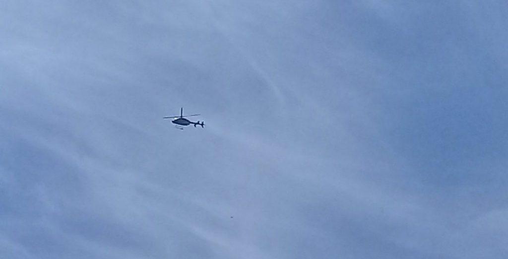 Dos heridos tras capotar helicóptero en faenas de alta tensión en Limache