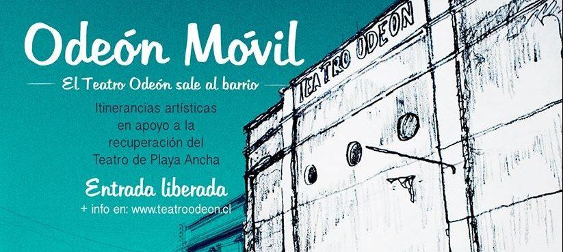 Teatro Odeón sale al barrio con actividades culturales gratuitas