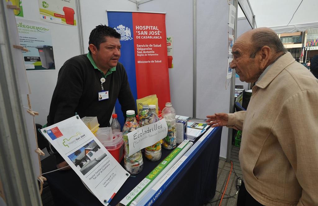 Segunda Feria de Gestión Ambiental Hospitalaria del SSVSA pone foco en eficiencia energética y manejo de residuos