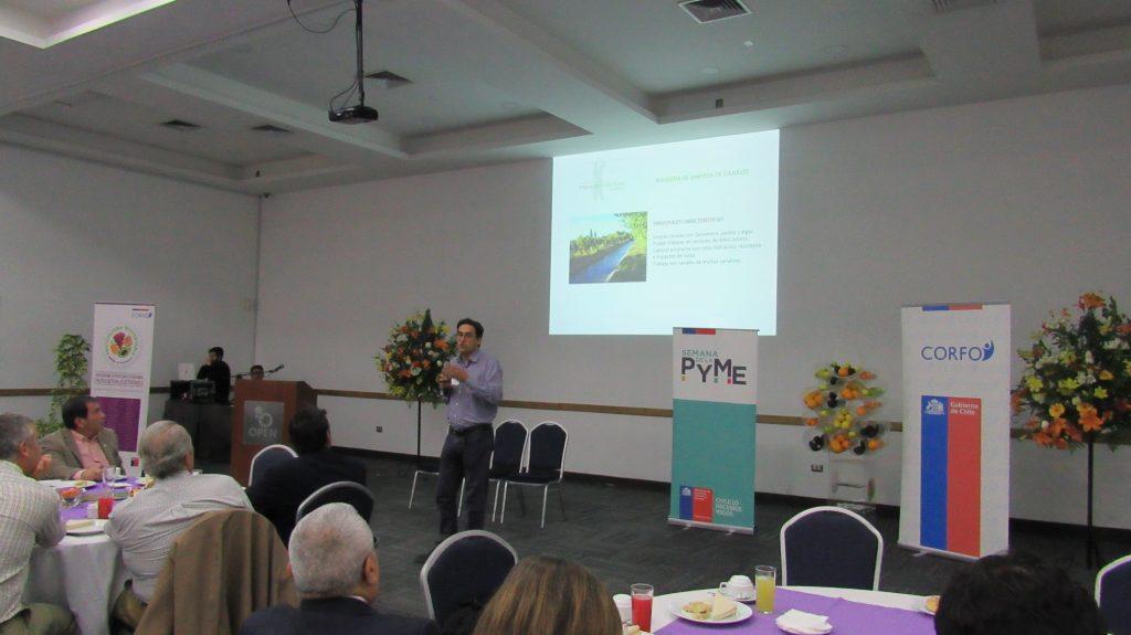 Quillota: Destacados proyectos de innovación vinculados a la fruticultura se presentaron en Diálogo Empresarial