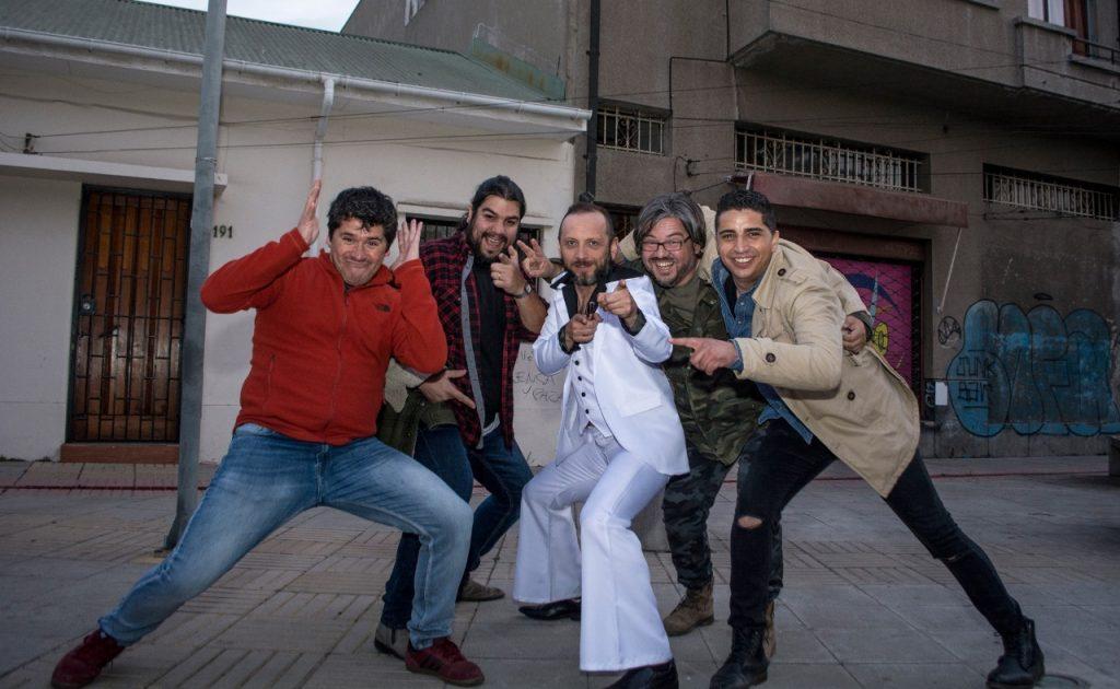 """""""Mantiz Band"""" lanza video clip en Quillota con Sebastián Layseca"""