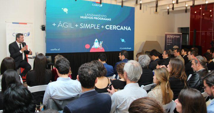 Corfo se simplifica y presenta sus nuevos programas de innovación y emprendimiento