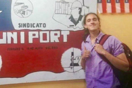 Vocero de la Coordinadora No + Zonas de Sacrificio de Valparaíso denuncia amenazas por parte de Carabineros