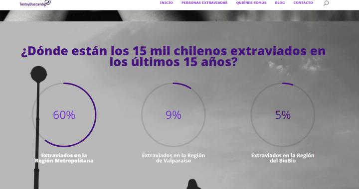 Sitio web apoya en la búsqueda de desaparecidos