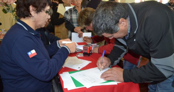 INDAP entrega ayuda a 152 familias campesinas de Casablanca