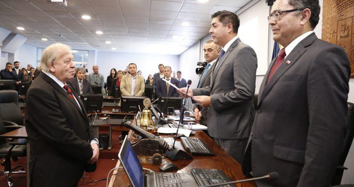 Consejero regional Juan Arriagada (DC) es el  nuevo Presidente del CORE de Valparaíso