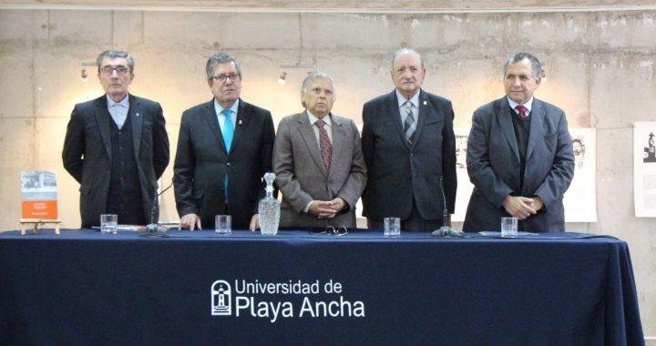 UPLA concede título Doctor Honoris Causa a Norman Cortés Larrieu