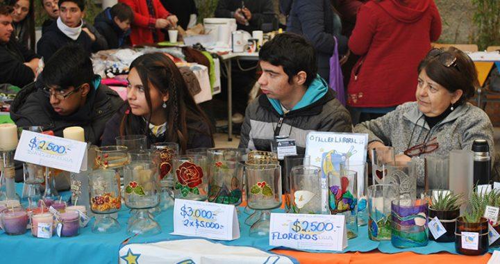 Establecimientos de toda la región participan en la IV Feria de Autogestión y Emprendimiento Inclusivo de UST Viña del Mar