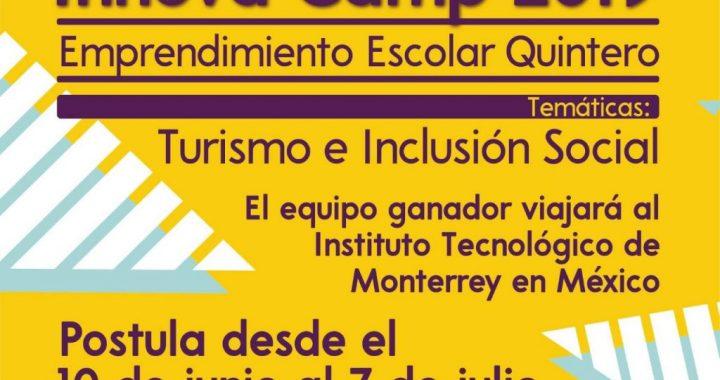 PUCV lanzó programa de innovación escolar para estudiantes de Quintero