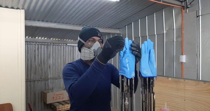 Prototipo busca estandarizar proceso de fabricación de guantes de seguridad