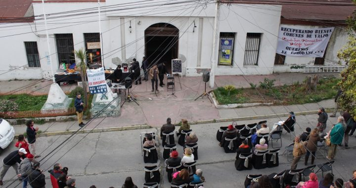 Comunidad del Cerro Barón presenta Corporación para recuperar la ex 3ra Comisaría
