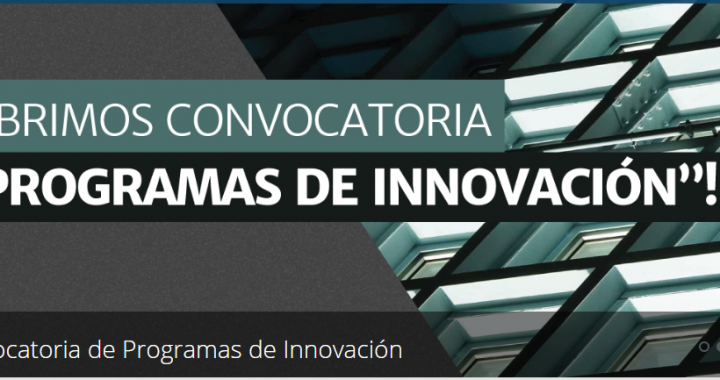 Corfo abre nueva convocatoria de sus programas de Innovación