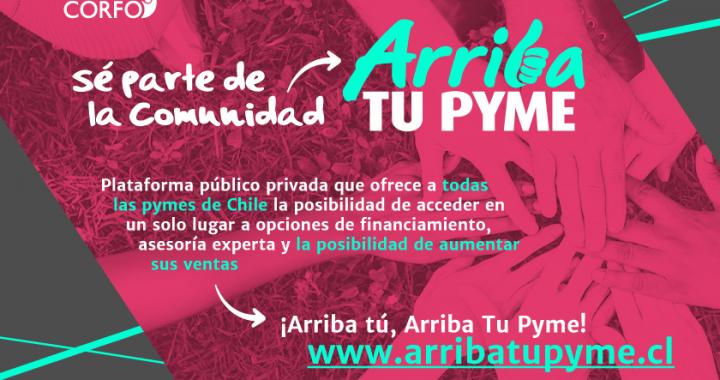 Corfo lanza inédita plataforma público privada para ayudar a pymes
