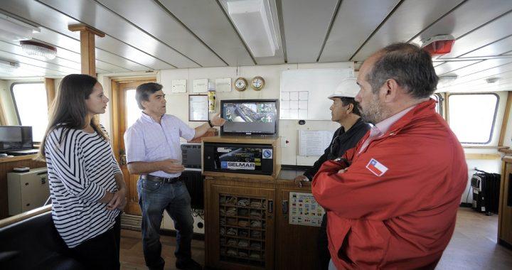 Embarcaciones chilenas registrarán faenas pesqueras con cámaras a bordo
