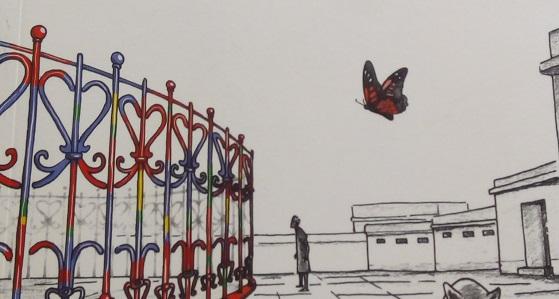 La reja de Jaime Galgani: una parábola, por Eddie Morales Piña