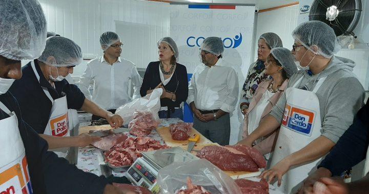 Emprendedora porteña amplía su comercializadora de carnes con proyecto de inversión productiva de Corfo