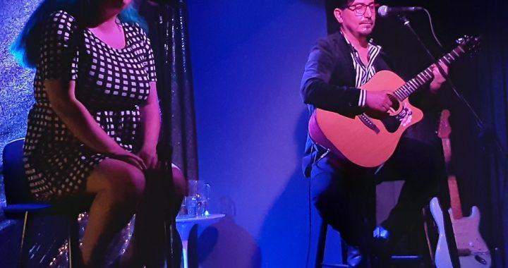 Dúo musical porteño deslumbró con interesante show en la Sala SCD Teatro Mauri