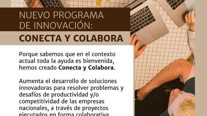 Corfo lanza programa «Conecta y Colabora» para innovar en proyectos colaborativos