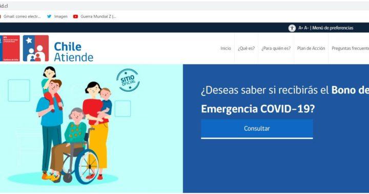 Más de 125 mil familias de la región de Valparaíso serán beneficiadas con el Bono Covid-19