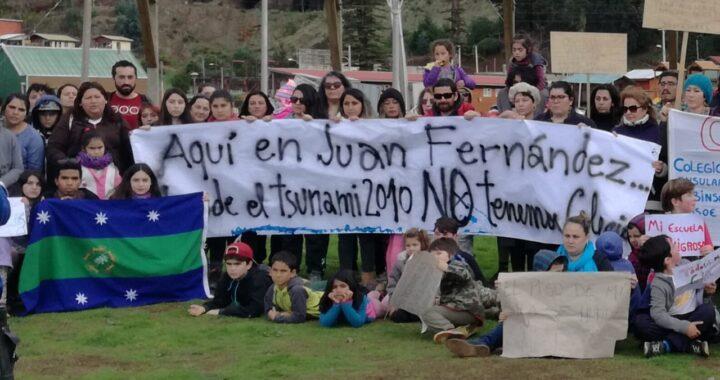 Isla Juan Fernández aún no cuenta con colegio digno luego de 10 años del tsunami del 27F