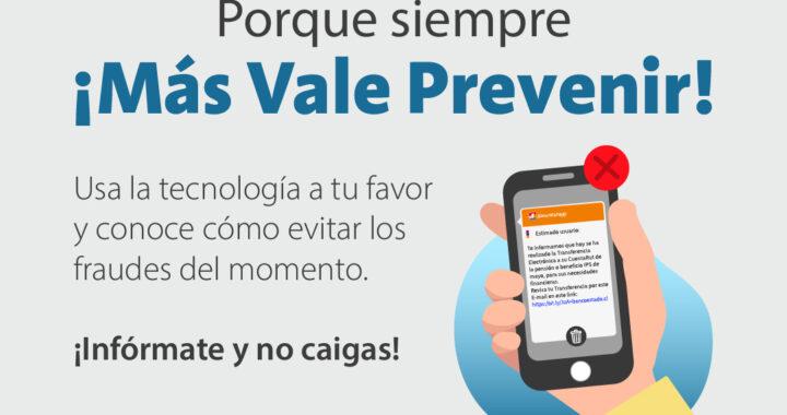 IPS potencia campaña para prevenir que usuarios sean víctimas de fraudes