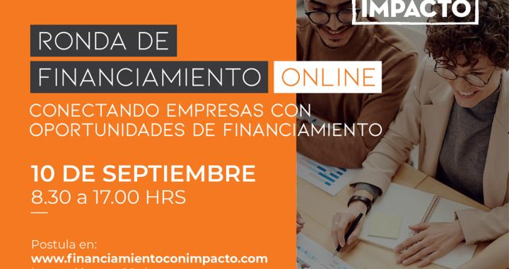 Nueva Ronda de Financiamiento con Impacto será 100% online