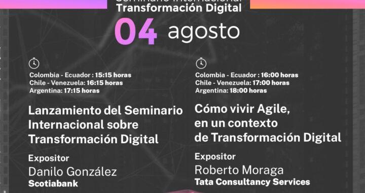 Alianza académica organiza Seminario Internacional sobre Transformación Digital