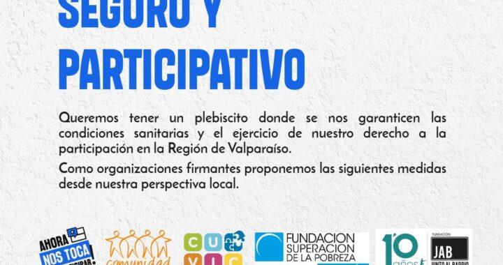 Consejera Campusano y organizaciones de la sociedad civil exigen conocer medidas para tener un plebiscito participativo y seguro en la región