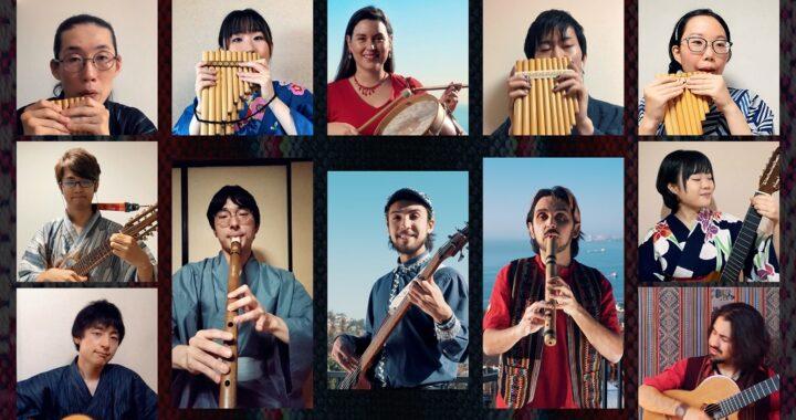 Ensamble Transatlántico de Folk Chileno lanza nuevo videoclip con músicos japoneses que tocan instrumentos andinos